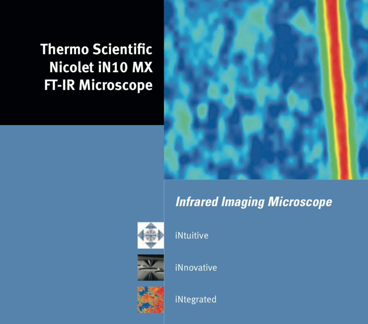 Thermo Scientific™ Microscópio de imagem infravermelho Nicolet ™ iN10 MX